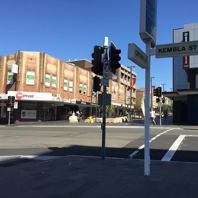 Shopping Precinct Wollongong New South Wales