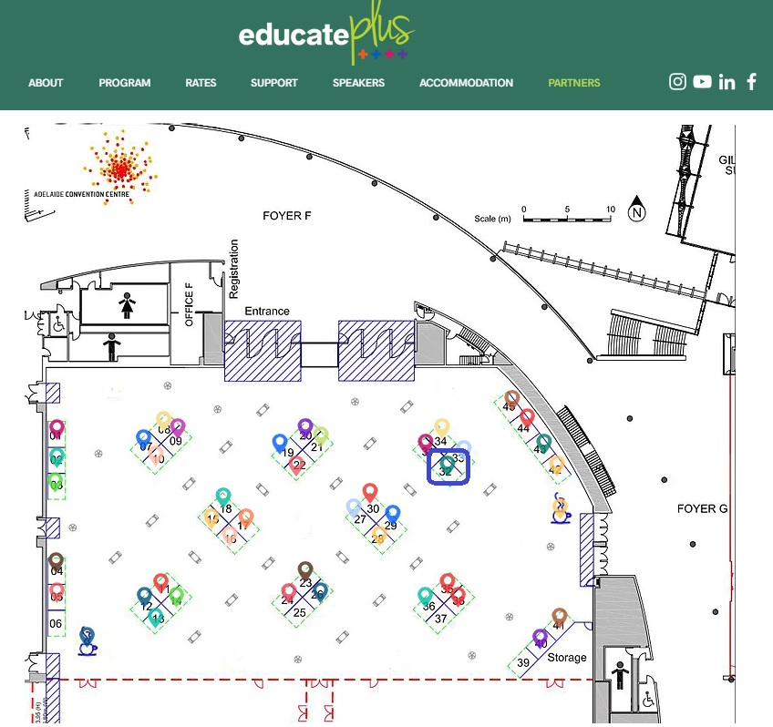 Educate Plus 2021 International Conference Exhibition Stands