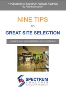 Nine Tips to Great Site Selection by Peter Buckingham Spectrum Analysis Australia
